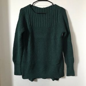 Leo & Nicole Emerald Slouchy Pullover Sweater